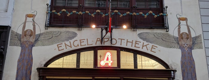 Engel Apotheke is one of Vienna Sightseeing.