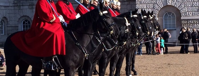 Horse Guards Parade is one of London, UK.