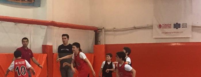 Gelecegin Yildizlari Afl Basketbol Okulu is one of Tempat yang Disukai Caglar.