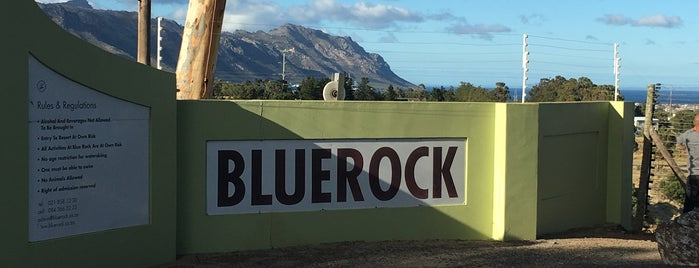 BLUE ROCK is one of Cape Town.