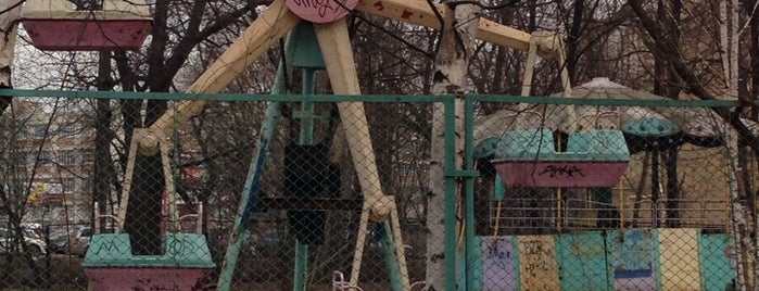 Заброшенный парк аттракционов is one of заб.
