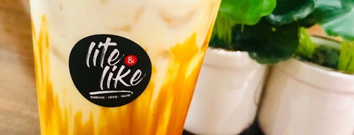 Lite And Like Cafe is one of WSL 님이 좋아한 장소.
