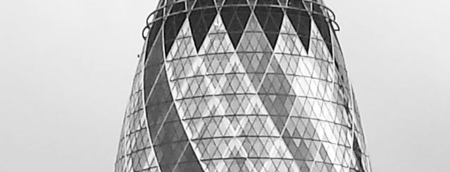 30 St Mary Axe is one of London Sightseeing.