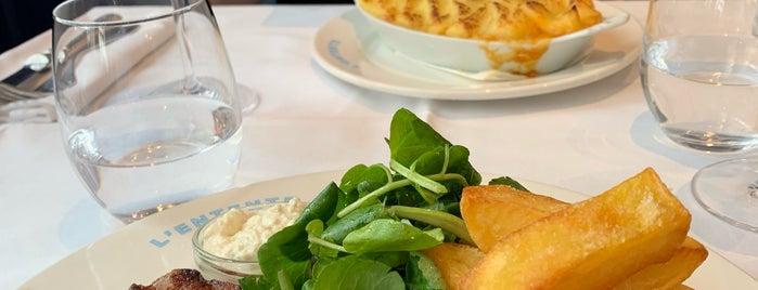 L'Entente, Le British Brasserie is one of Paris.