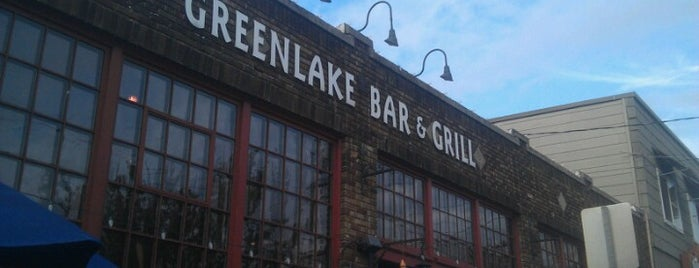 Greenlake Bar & Grill is one of Seattle Favs.