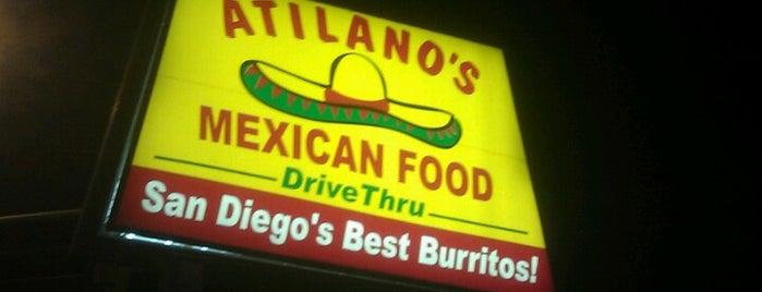 Atilano's Mexican Food is one of Joey D's 50 Favorite Spokane Spots.
