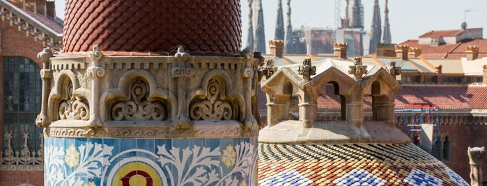 Sant Pau Recinte Modernista is one of Barcelona.