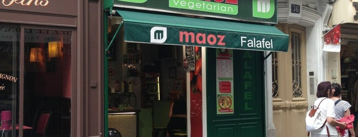 Maoz Vegetarian is one of Restaurants in Paris.