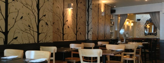 Manna Vegetarian Restaurant is one of London.