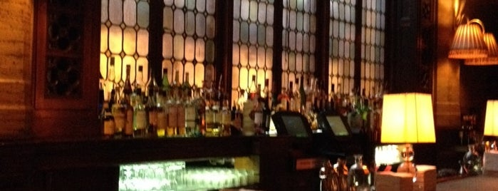 The Campbell is one of NYC Drinks.
