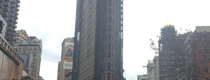 Flatiron Building is one of NY.