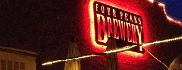 Four Peaks Brewing Company is one of Breweries USA.