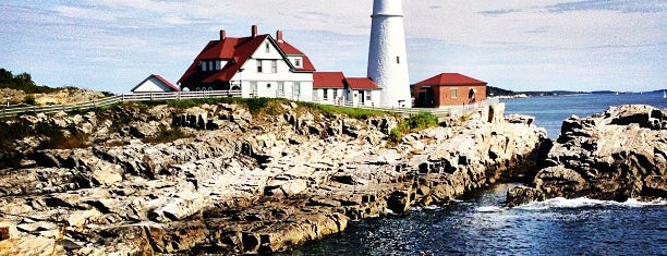 Portland Head Light is one of Maine.