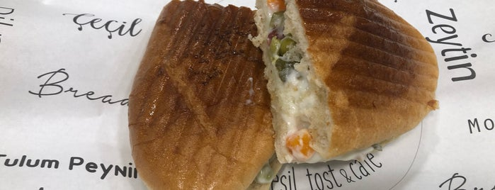 Tost Art Yeni Nesil Tost & Cafe is one of Sevda 님이 좋아한 장소.