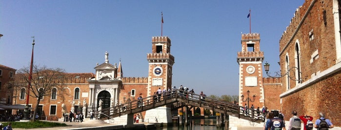 Arsenale di Venezia is one of Venezia.