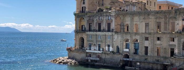 Palazzo Donn'Anna is one of Viaggio in Italia 2019 - Napoli.