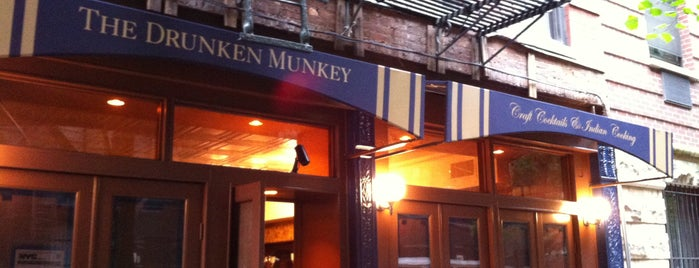 Drunken Munkey is one of NYC Bars w/ Replay Value.