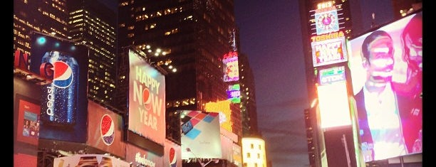 Times Square is one of NY.