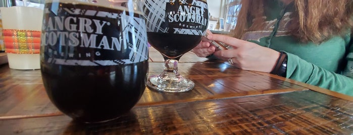 Angry Scotsman Brewing is one of Oklahoma City.