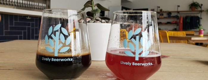 Lively Beerworks is one of Oklahoma City.
