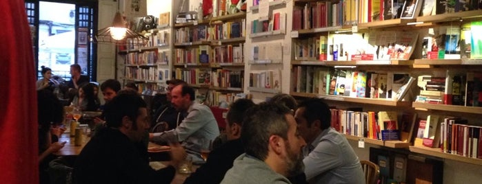 Cafetería Librería Ubik Café is one of Conferencias / Debates.