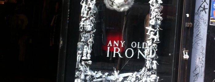 Any Old Iron is one of NY.