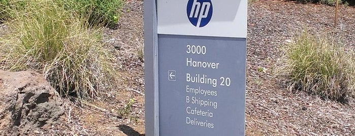HP Headquarters is one of Silicon Valley.