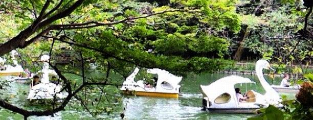 Inokashira Pond is one of Lugares guardados de Hide.