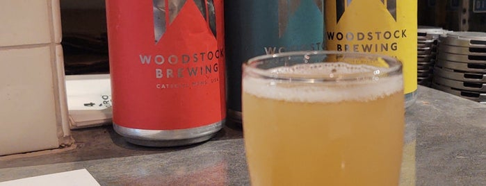 Woodstock Brewing is one of Upstate.