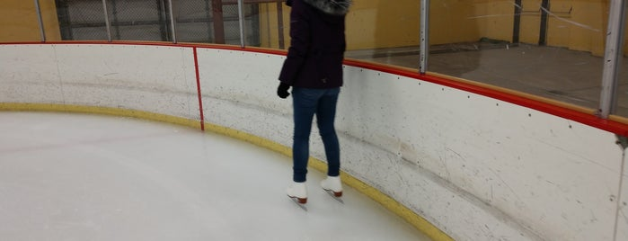 Sunnycrest Ice Rink is one of Keith's Liked Places.