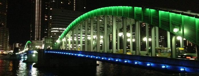 勝鬨橋 is one of うっど🌲さんの保存済みスポット.