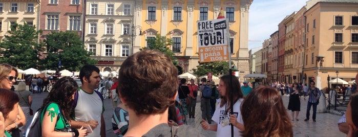 FREE walking TOUR foundation Krakow is one of poland.
