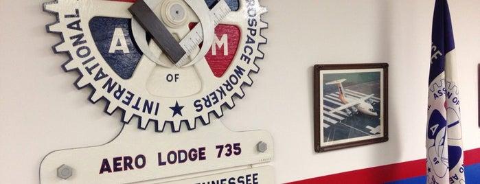 IAMAW Lodge 735 is one of Tanya'nın Beğendiği Mekanlar.