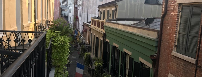 French Quarter is one of New Orleans.