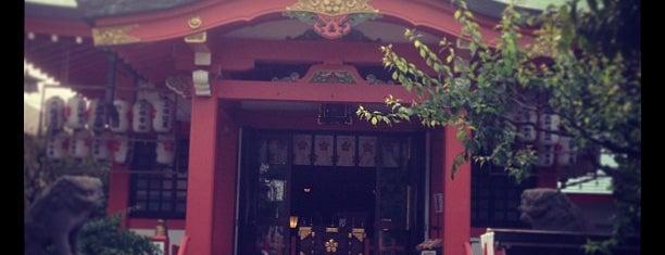 菅原神社 is one of せたがや百景 100 famous views of Setagaya.