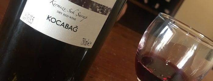 Kocabağ Şarap Evi is one of Best Wine Bars in Turkey.