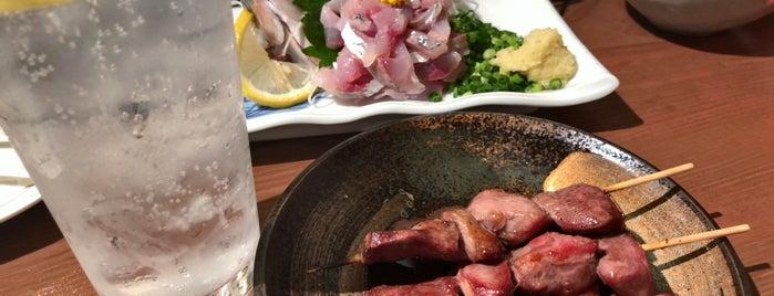 稲垣 押上店 is one of 旨い焼鳥もつ焼きホルモン焼き2.