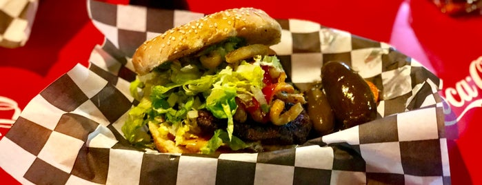 Fricky's Burger is one of Caro.