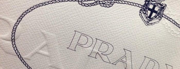 Prada is one of Orte, die Adrian gefallen.
