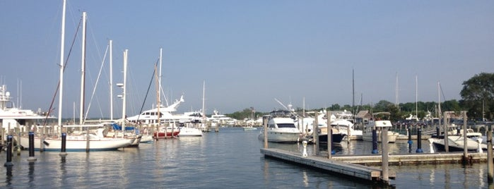 Port of Sag Harbor is one of The Hamptons.