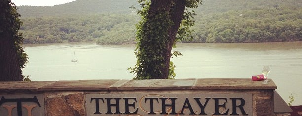 The Thayer Hotel is one of Hudson Valley.