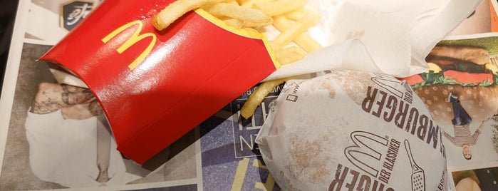 McDonald's is one of Gespeicherte Orte von N..