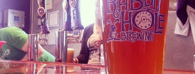 Rabbit Hole Brewing is one of Russ's Liked Places.