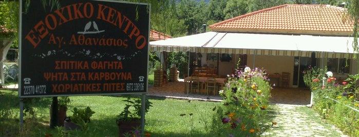 Ταβέρνα Άγιος Αθανάσιος is one of Locais curtidos por Costas.