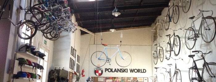 POLANSKI WORLD is one of Bicicleterías de Buenos Aires.