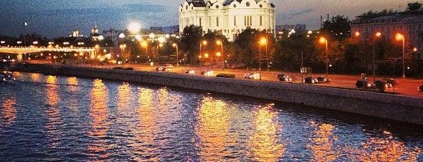 Пречистенская набережная is one of Набережные Москвы.