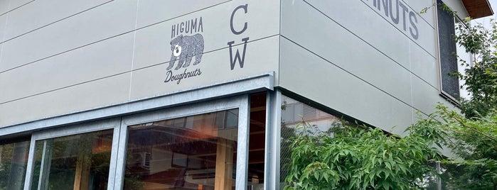Higuma Doughnuts × Coffee Wrights is one of Japón.