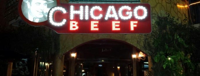 Chicago Beef is one of Cancún.