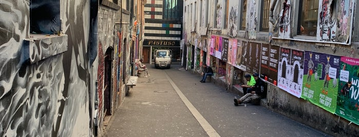 ACDC Lane is one of Melbourne.