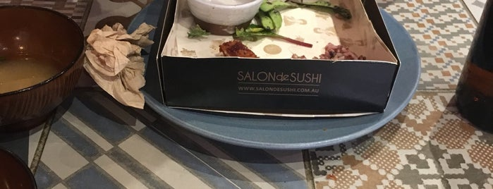 Salon de Sushi is one of Melb.